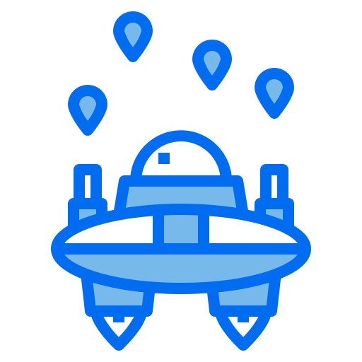 Space invaders  free icon