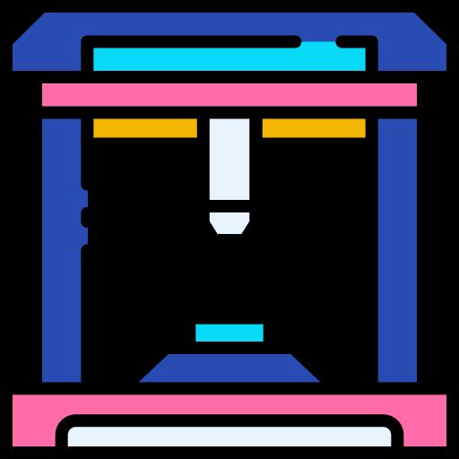 imprimante 3d  Icône gratuit