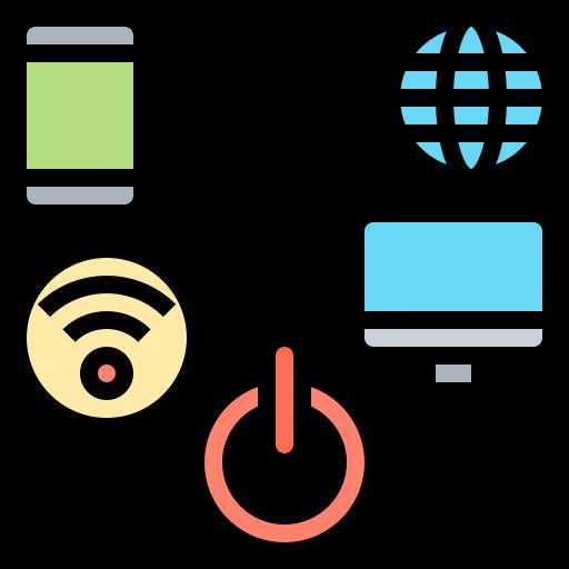 Digital  free icon