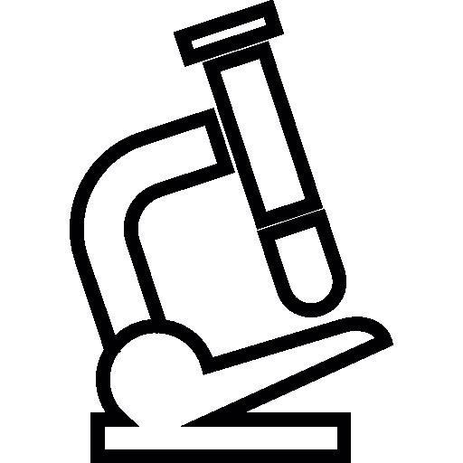 현미경  무료 아이콘
