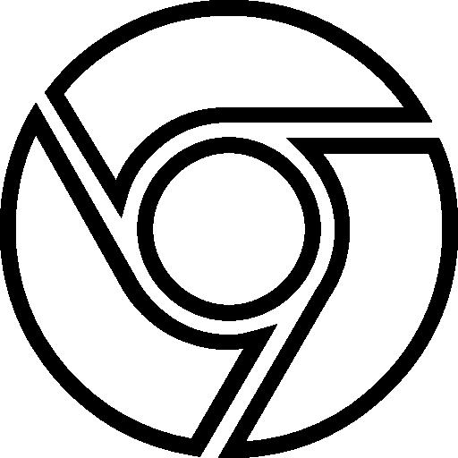 Google chrome  free icon