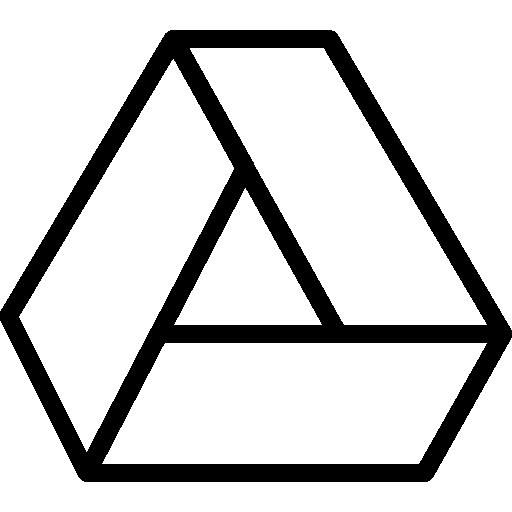 Google drive  free icon