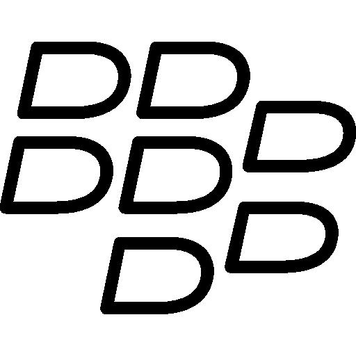 Blackberry  free icon