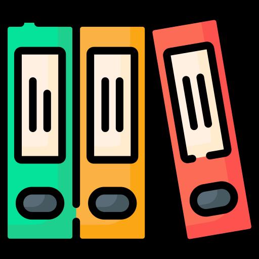 Folders  free icon