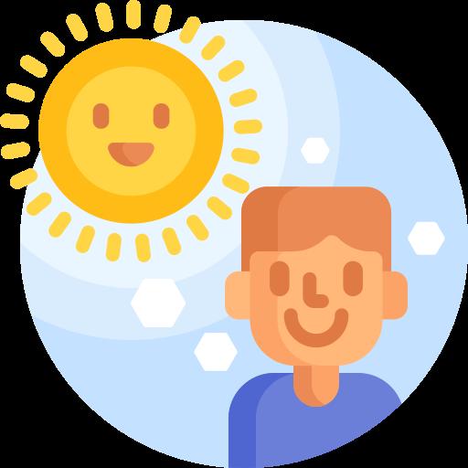 assez de soleil  Icône gratuit