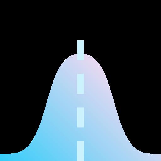 função gaussiana  grátis ícone