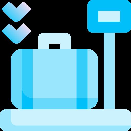 bagagem  grátis ícone
