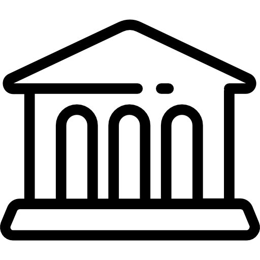 박물관  무료 아이콘