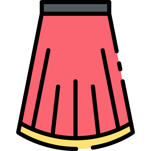 Skirt  free icon