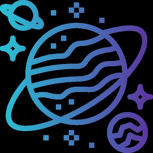 planète  Icône gratuit