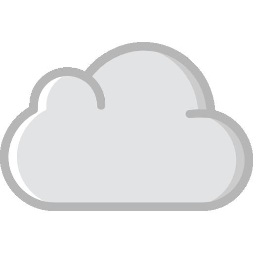 computación en la nube  icono gratis
