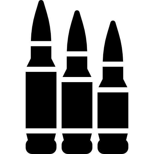 Bullets  free icon