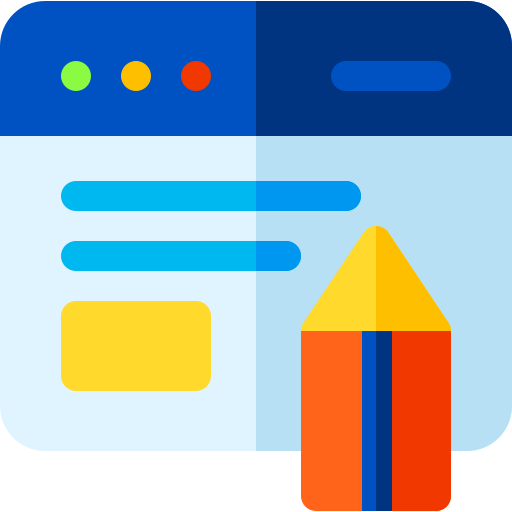 Content writing  free icon