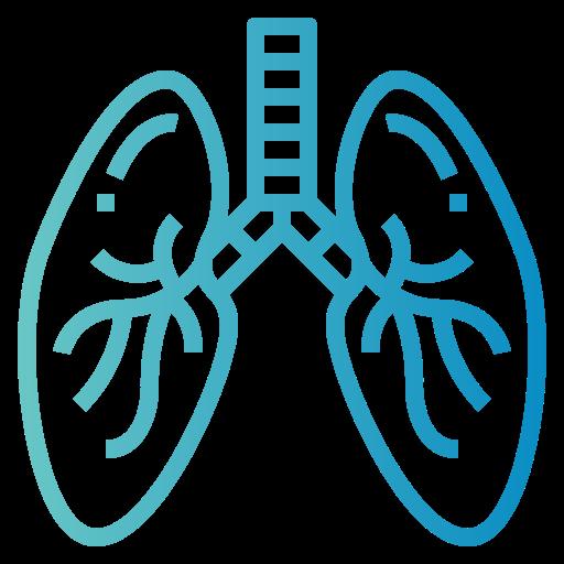poumons  Icône gratuit
