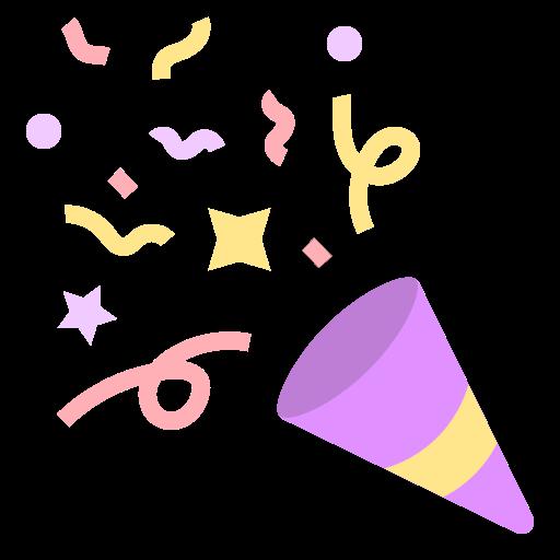 confete  grátis ícone