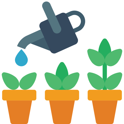 Watering  free icon