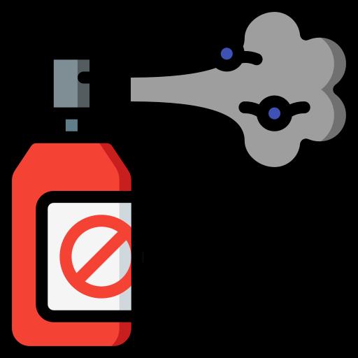 Bug spray  free icon