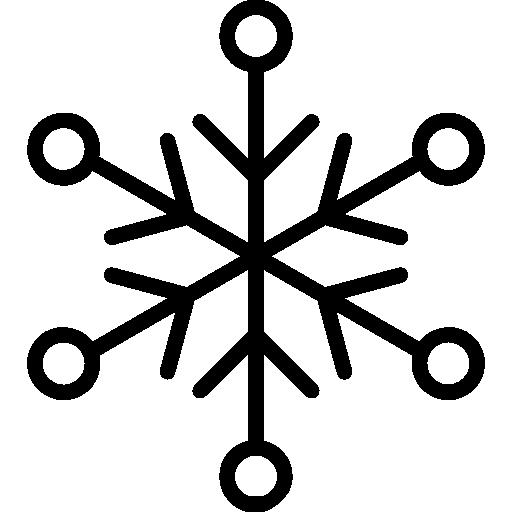 Снежинки  бесплатно иконка