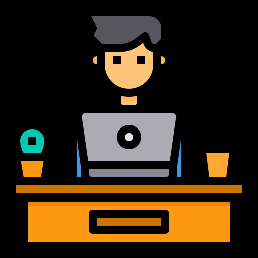 Desk  free icon