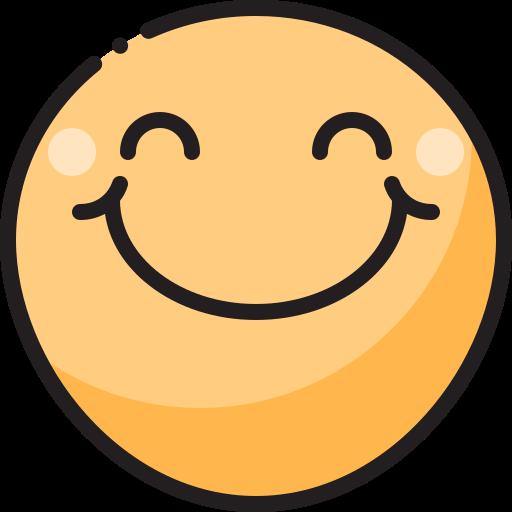 visage souriant  Icône gratuit