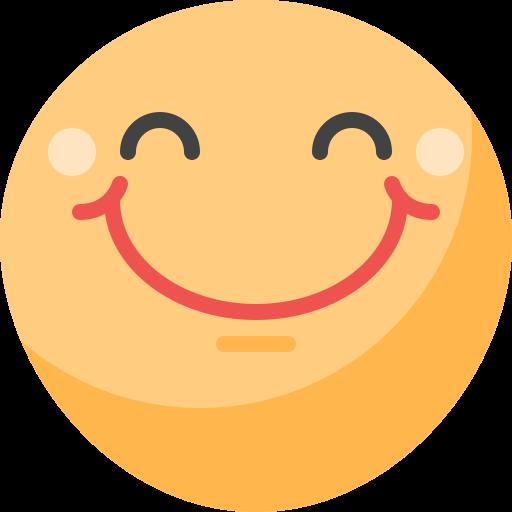 웃는 얼굴  무료 아이콘