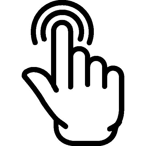 Tap  free icon