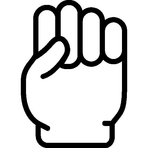 Fist  free icon