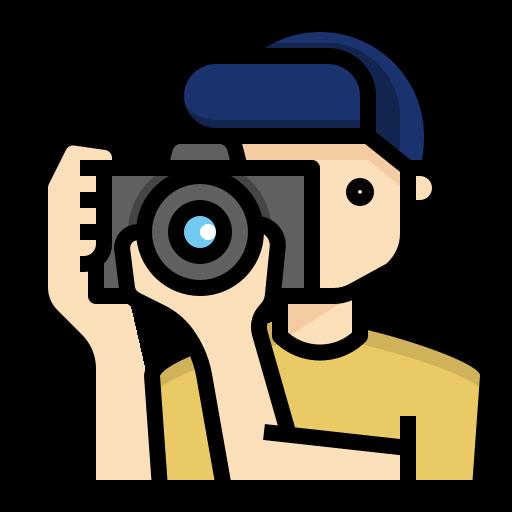 fotógrafo  icono gratis