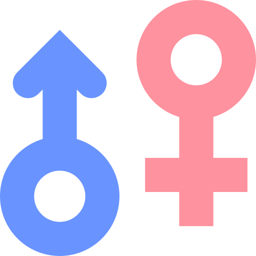 Gender symbols  free icon