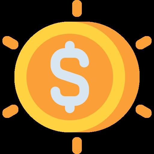 pièce de monnaie  Icône gratuit
