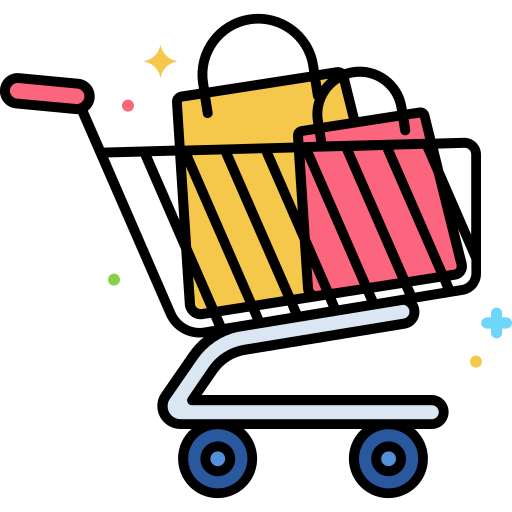 carrito de compras  icono gratis