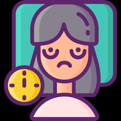 desorden del sueño  icono gratis
