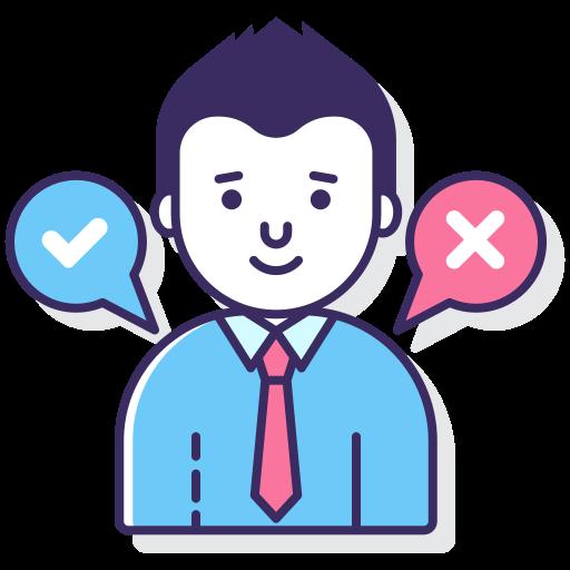 marcador de decisão  grátis ícone