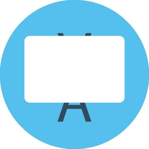 Whiteboard  free icon