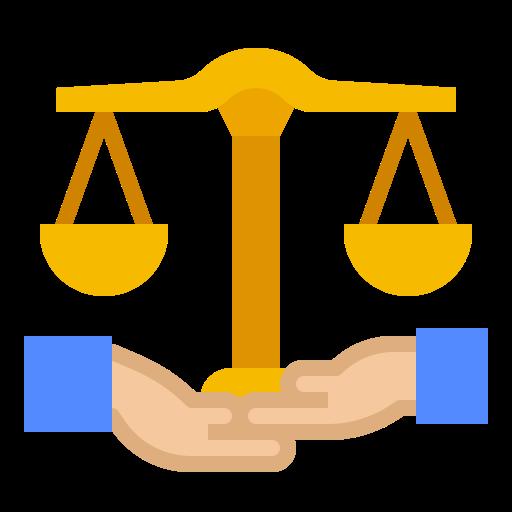 Balance scale  free icon
