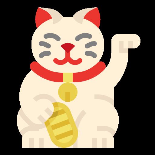 Maneki neko  free icon