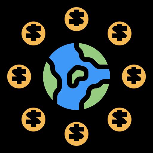 Глобальная экономика  бесплатно иконка