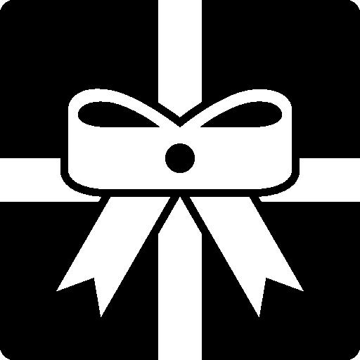Рождественский подарок  бесплатно иконка