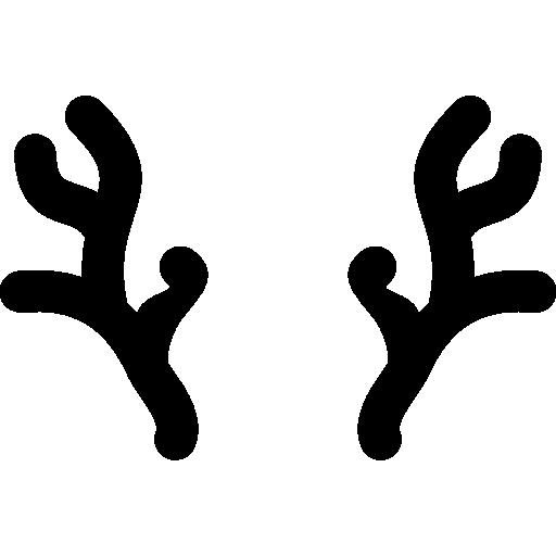 Оленьи рога  бесплатно иконка