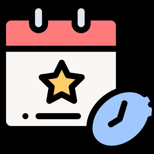 fecha tope  icono gratis