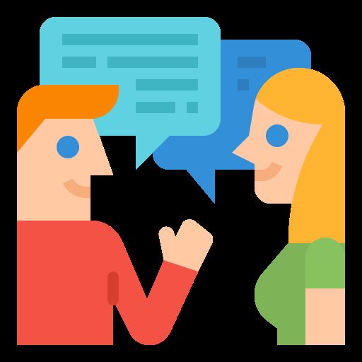la communication  Icône gratuit