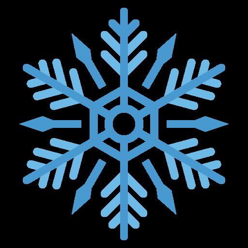 copo de nieve  icono gratis