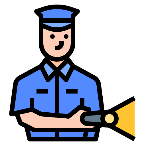 Security guard  free icon