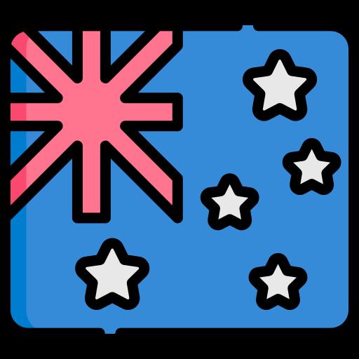 호주 국기  무료 아이콘