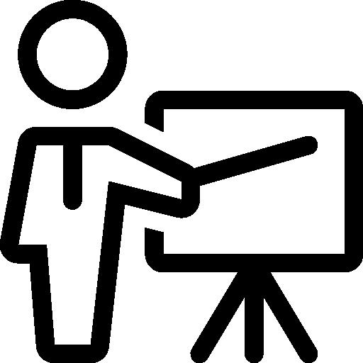 Presentation  free icon