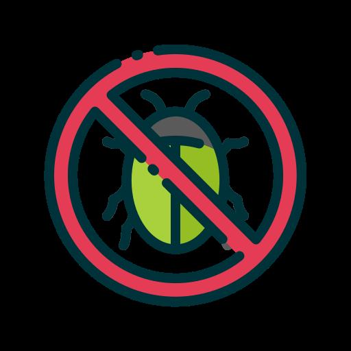 No bugs  free icon