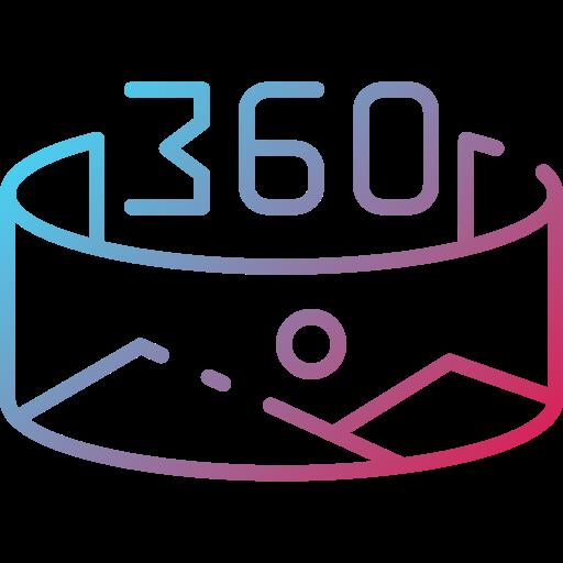 360  Icône gratuit