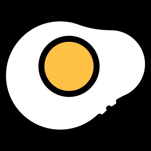 Fried egg  free icon