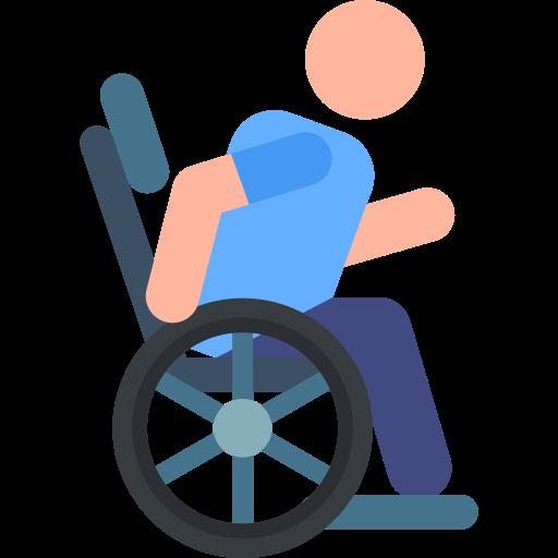 silla de ruedas  icono gratis
