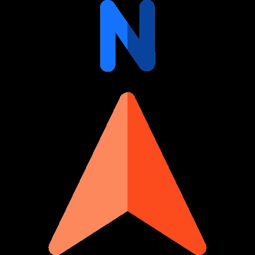 North  free icon